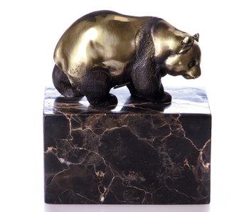 Bronze panda bear