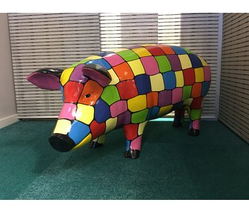 Garden statue Pig - Puzzle