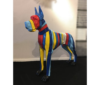 Great Dane, art garden statue XL