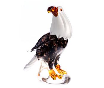 Eagle, glass art object