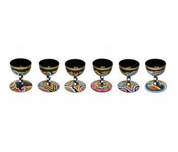 Toms Drag Egg cups set of 6 pc. (last set)