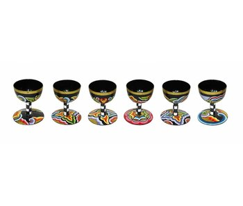 Toms Drag Egg cups set of 6 pc.