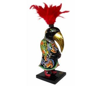Toms Drag Bird statue raven Magnus - M