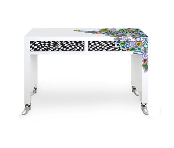 Toms Drag Console table  Silver Line