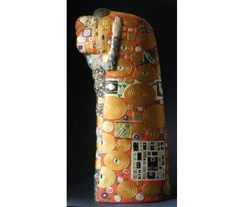 Mouseion Gustav Klimt beeld De Vervulling - L