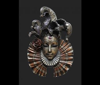 Mascarade Body Talk Máscara veneciana IL Giullare
