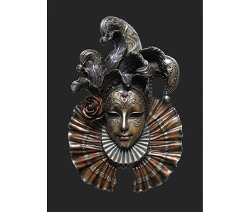 Mascarade Body Talk Venezianische Maske IL Giullare