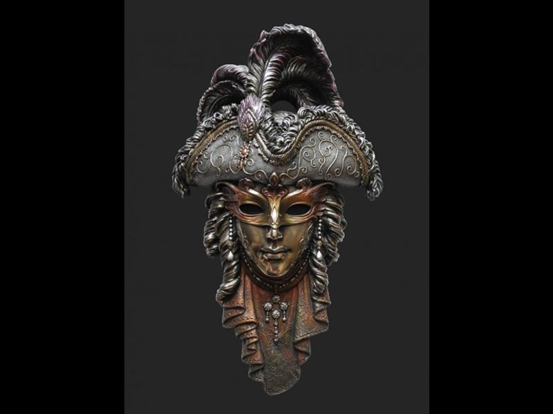 Mascarade Body Talk Mascarade collectie, Venetiaans masker  IL PIRATA