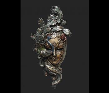 Mascarade Body Talk Venezianische Maske IL PAVONE