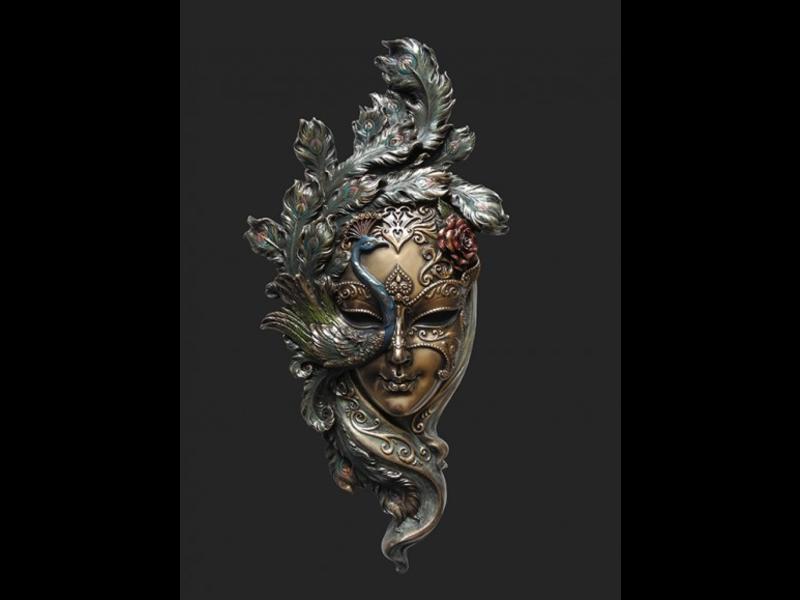 Mascarade Body Talk Mascarade collection, Venetian mask IL PAVONE