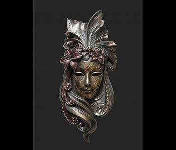 Mascarade Body Talk Venezianische Maske IL GIGLIO