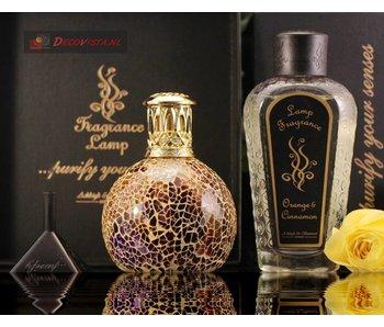 Ashleigh & Burwood Giftset S - geurlamp Golden Sunset + geurlampolie