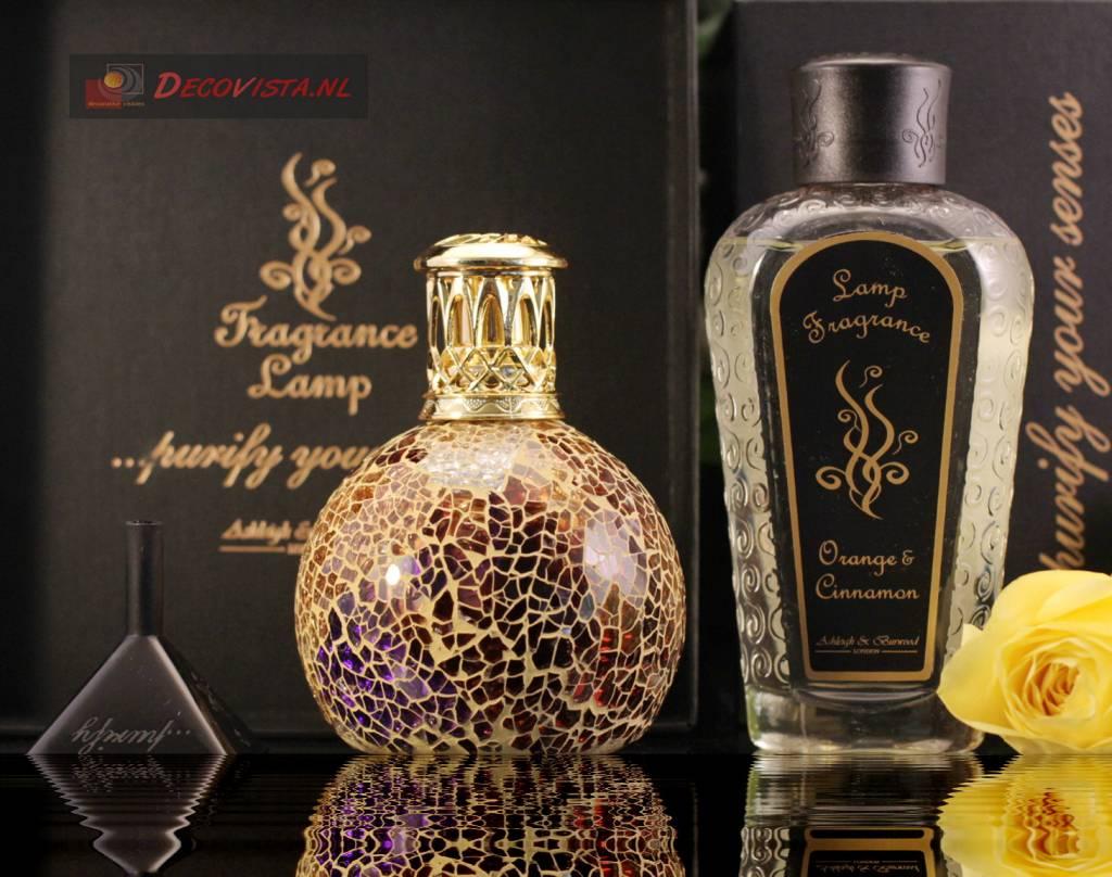 Ashleigh Amp Burwood Fragrance Lamp Giftset Golden Sunset