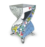 Toms Drag Side table with a twist