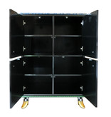 Toms Drag Four-door cabinet with shelves