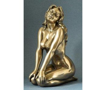 BodyTalk Weiblicher Akt - Figurine in Bronze - L