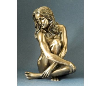 BodyTalk Naakt poserende vrouw - sculptuur - L