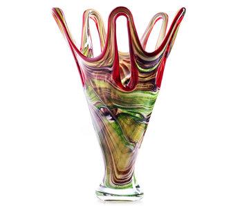 Glas Design Vase