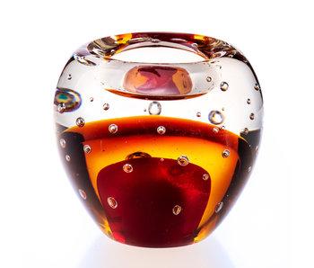 Theelichthouder glas