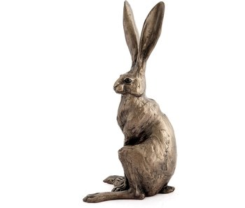 Frith Hare sculpture, sitting - 34 cm