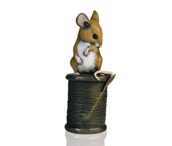 Mouse on cotton reel