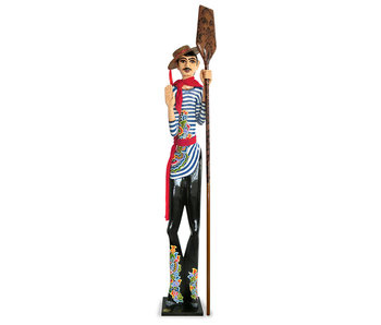 Toms Drag Gondolier, character statue