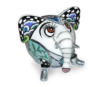 Toms Drag Elephant  Hathi - white