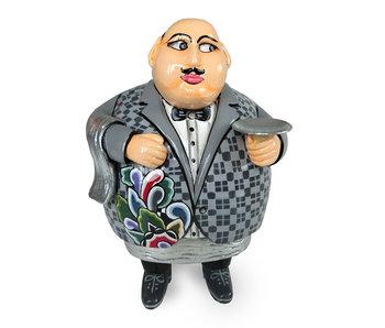 Toms Drag Waiter figurine Silver - L