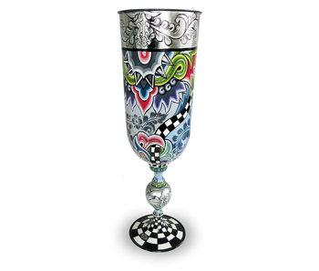 Toms Drag Vase oder Pokal  XL - Silver Line