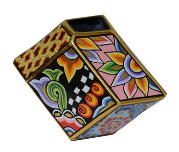 Toms Drag Vase - Cubist style - L