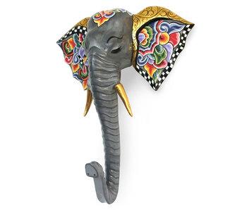 Toms Drag Wanddekoration Elefant Alexander