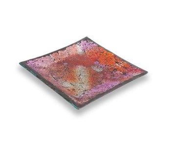Ashleigh & Burwood Mosaik plate Patchwork Rose -M