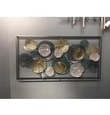 Frame-Art GaSp Wall object, metal Plantae