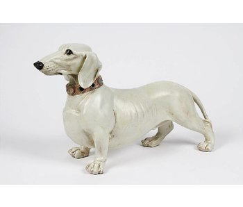 Baroque House of Classics Dog Dachshund figurine - L