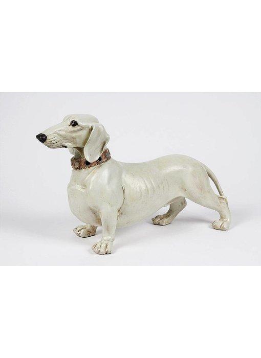 Baroque House of Classics Dog Dachshund figurine - L