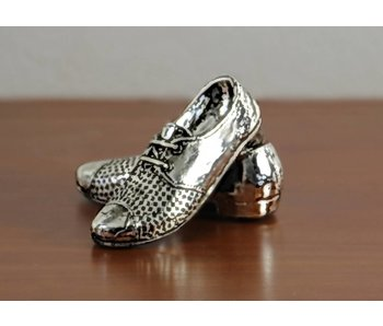 Baroque House of Classics Silberne Schuhe
