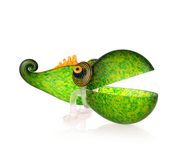 Borowski Chameleon Big, glass object