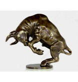 Bucking Bull in bronze