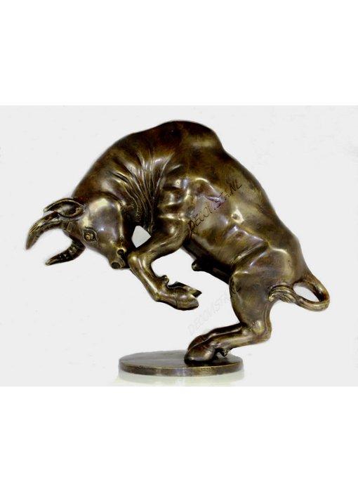 Prancing Bull - bronze