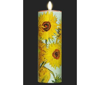 Mouseion Tealight holder Van Gogh,  Sunflowers