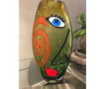 Gino Colleona Vase of glass - Unità