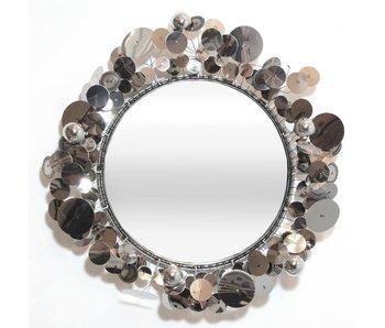 C. Jeré - Artisan House Raindrops Silver mirror