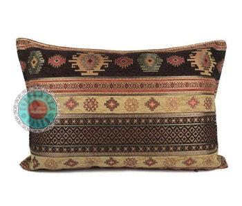 BoHo Bohemian cushion  cover Aztec OB - 50 x 70