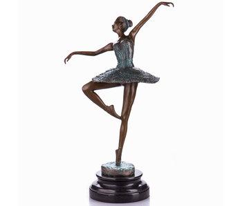 Bailarina - bronce