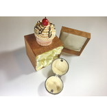 Pill box pastry, cup cake