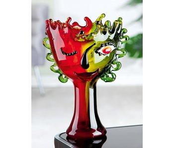 Vase or chalice Envy - glass