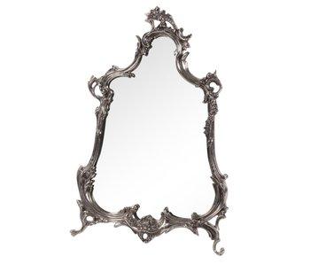 Baroque House of Classics Barok spiegel in  zilveren lijst