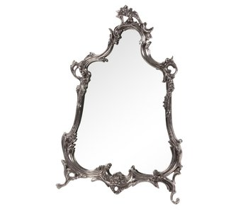 Baroque House of Classics Baroque mirror with silver frame