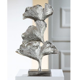 Decoration object Ginko - aluminum
