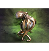 Table lamp Squid with switch incl. 5W lamp - gold color